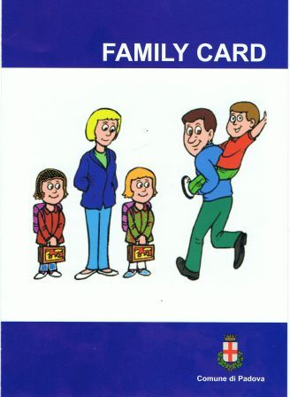 Family card brochure
